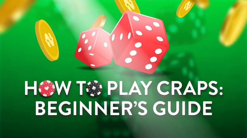 How to play craps Beginner's guide